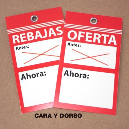 Etiquetas Rebajas-Oferta