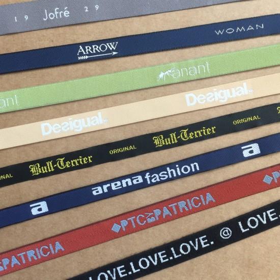 Cintas personalizadas bordadas