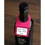 etiquetas cartulina para botellas color fuxia