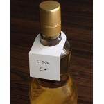 etiquetas cartulina para botellas color blanco