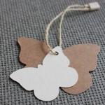 etiqueta mariposa cartón varios tamaños y cartulinas
