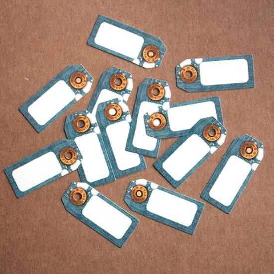 Etiquetas cartón JEANS MINI EN OFERTA 2x1