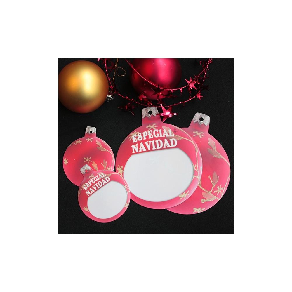 etiquetas cartón navidad escaparates