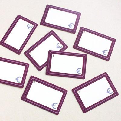 Etiquetas cartón para precios 2x1