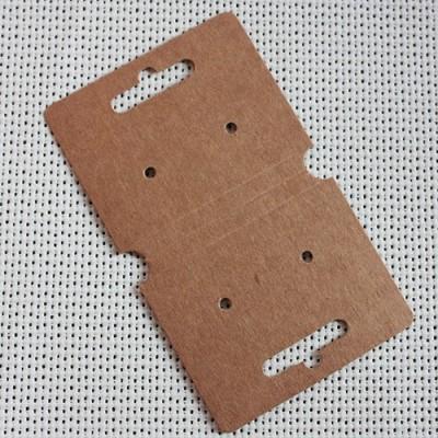 Etiqueta cartón kraft bisutería joyería