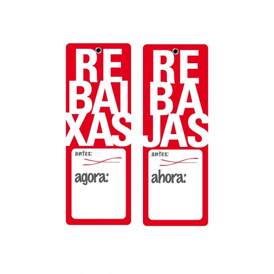 Etiquetas Rebaixas Rebajas...