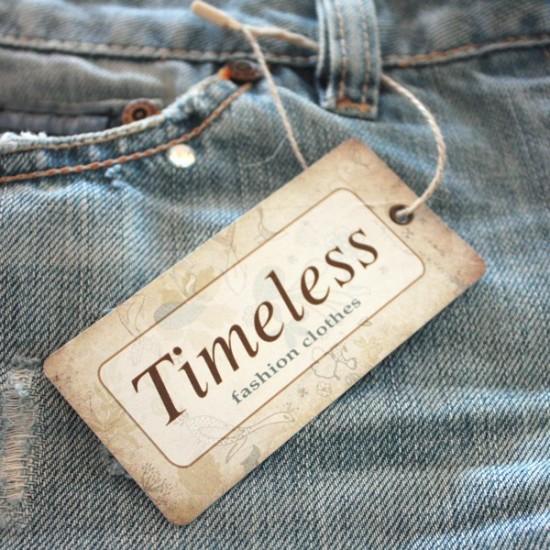 Etiquetas cartón TIMELESS