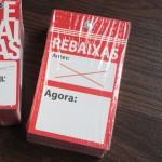 etiqueta Rebajas/Oferta