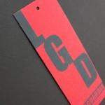etiquetas cartón personalizadas serigrafiadas