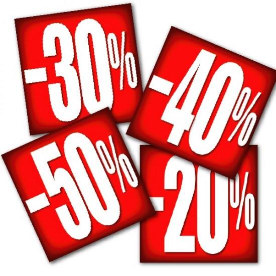 Carteles % descuentos