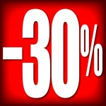 CARTELES 30% DESCUENTO