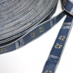 50 mts. tallas bordadas Azul Jeans EN OFERTA