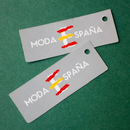 Etiqueta cartón MODA ESPAÑA