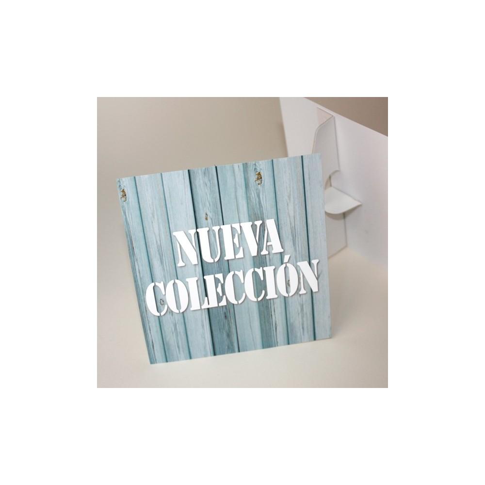 display nueva colección aspecto madera
