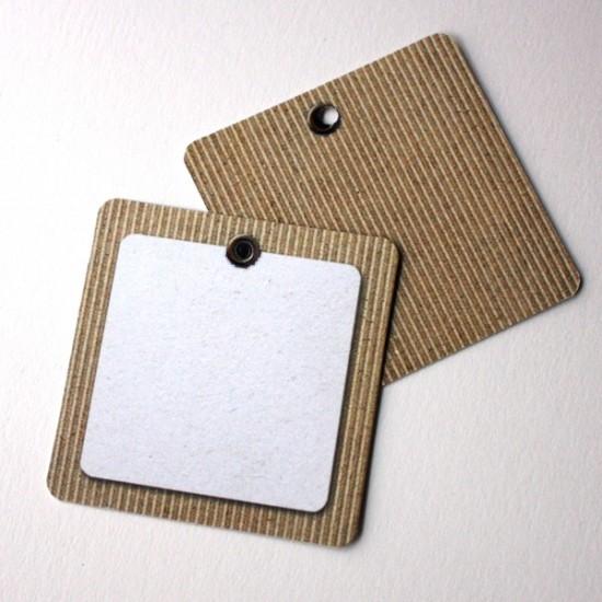 Etiquetas cartón colgante