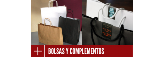 Bolsas para tiendas. Fabricantes de bolsas personalizadas para comercio